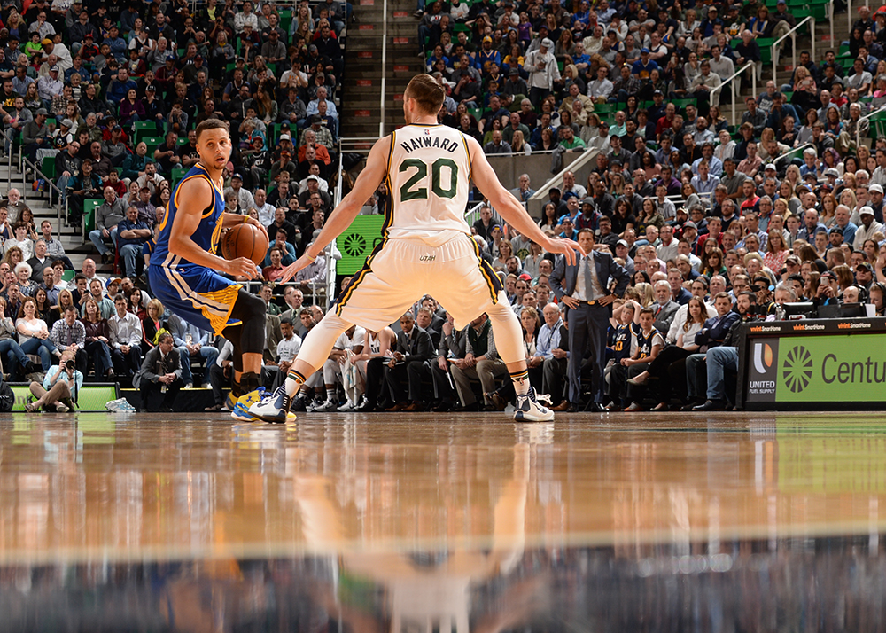 Golden State Warriors v Utah Jazz