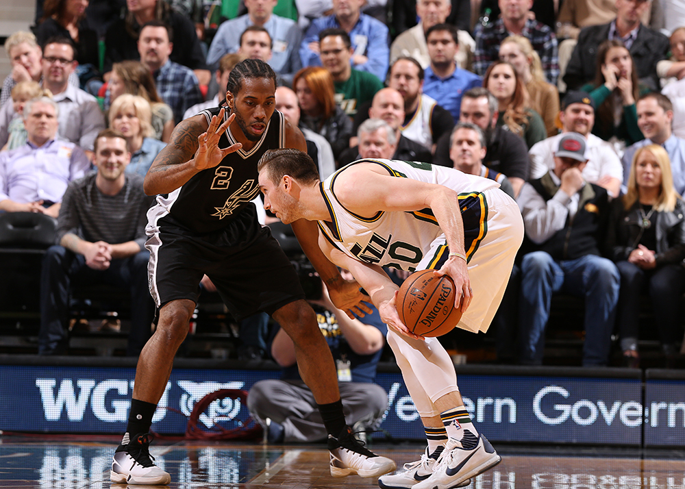San Antonio Spurs v Utah Jazz