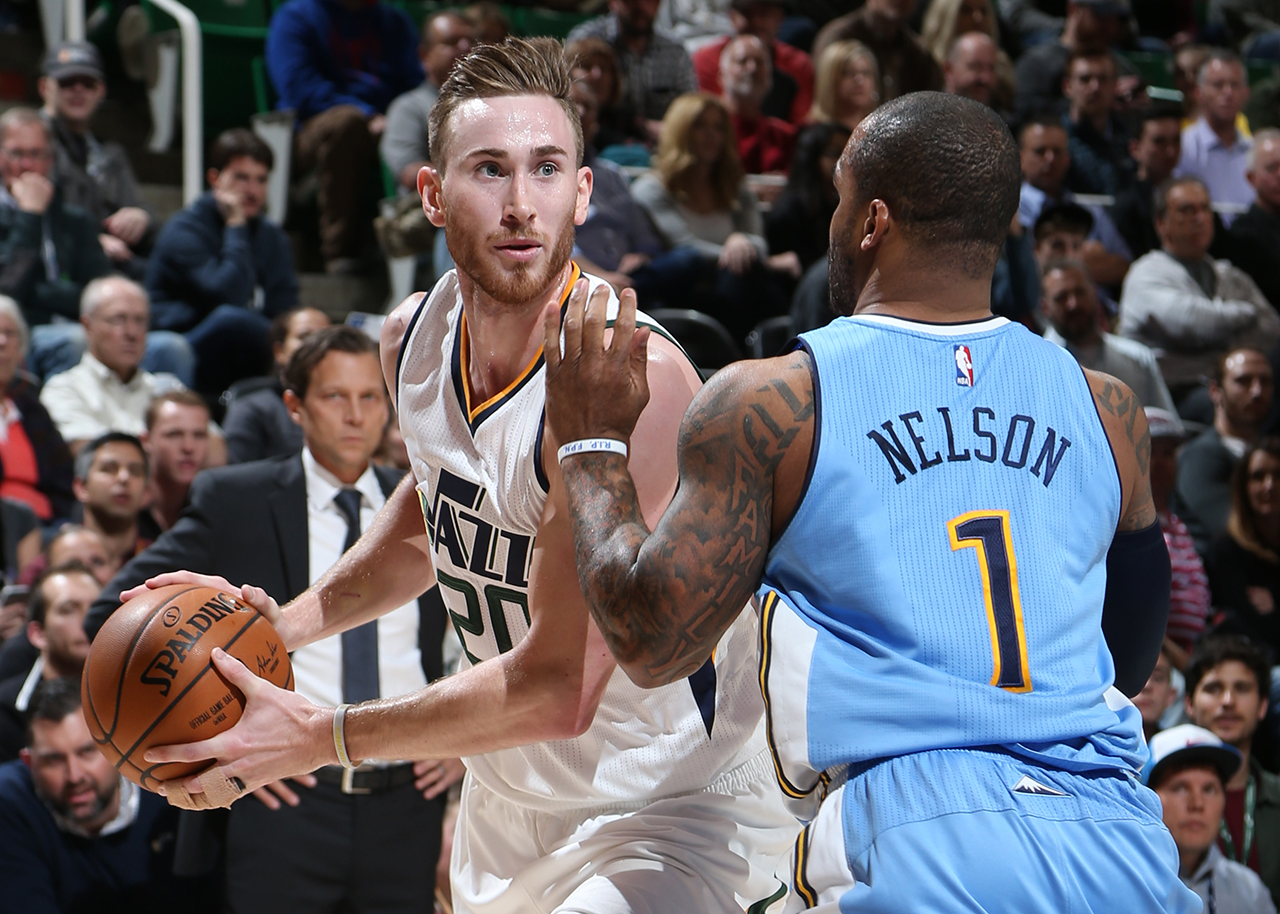 Jazz Race Past Nuggets to Stop Skid