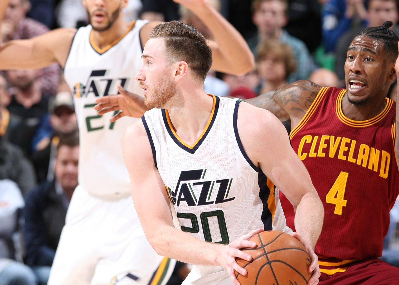Gordon Outduels LeBron as Jazz Win