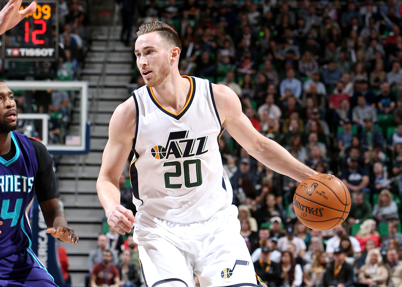 Jazz Rally Behind Gordon's 33 Points