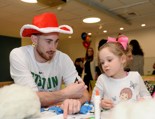 A Holiday Visit to Boston Children's Hospital