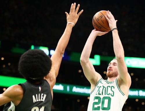 Gordon, Celtics Win Third Straight to Start 2019