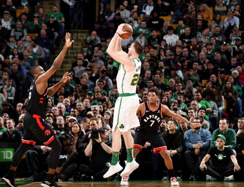 G-Time Sparks Celtics Against Raptors