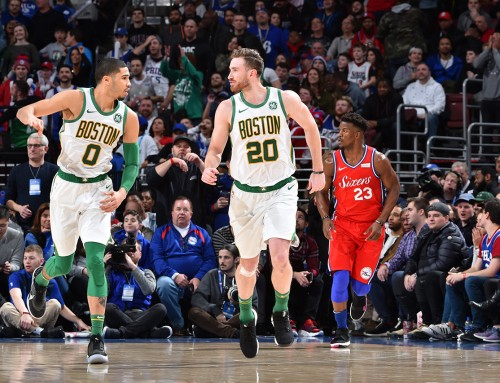 Gordon Propels Celtics Over Sixers