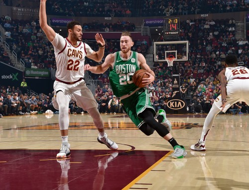 Gordon's Historic Night Lifts C's Over Cavs