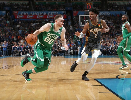 Celtics Escape OKC With 112-111 Victory